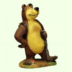 Большая копилка для денег Медведь