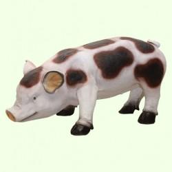 Большая копилка для денег Свинка пятнистая