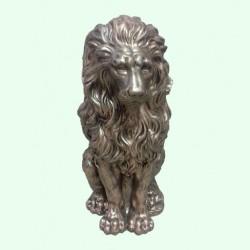 Скульптуры льва и медведя (15)