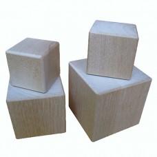 Деревянные кубики из березы