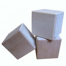 Деревянные кубики из ольхи
