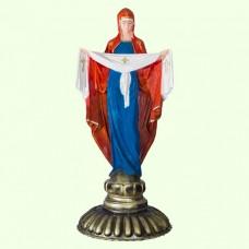 Набивная скульптура Дева Мария Покрова
