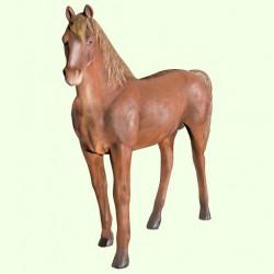 Набивная скульптура Конь