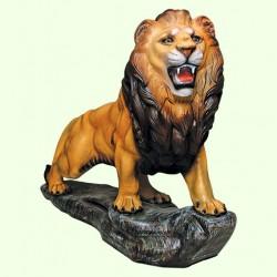 Набивная скульптура Лев