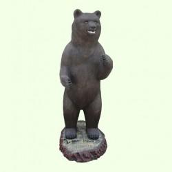 Набивная скульптура Медведь