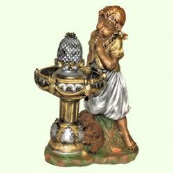 Фонтан для дома и сада Девочка у фонтана