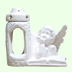 Лампадка Ангел читающий