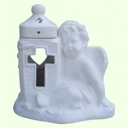 Лампадка Ангел с крестом