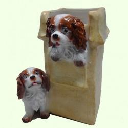Цветочник Коробка со щенками