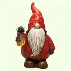 Новогодняя скульптура Гном новогодний