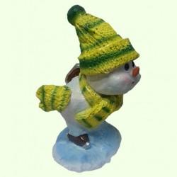 Новогодняя скульптура Снеговик (М)
