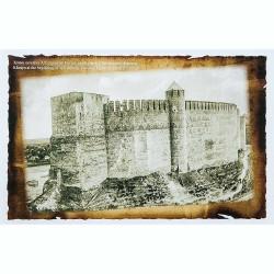 Открытка Генуэзский замок в Хотинской крепости начала XX в.