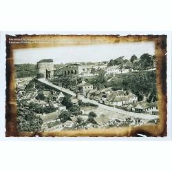 Открытка Старый въезд в город и польские ворота начала XX в.