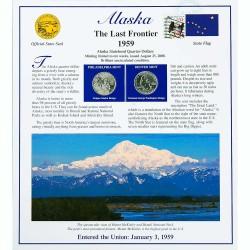 Постер штата Аляска