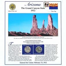 Постер штата Аризона