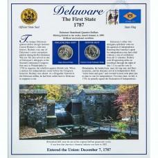 Постер штата Делавер