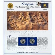 Постер штата Джорджия