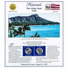 Постер штата Гавайи