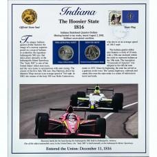 Постер штата Индиана