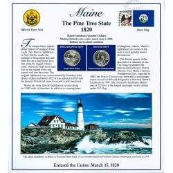 Постер штата Мейн