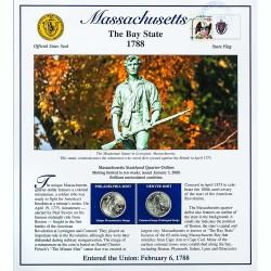 Постер штата Массачусетс
