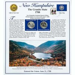 Постер штата Нью-Гэмпшир
