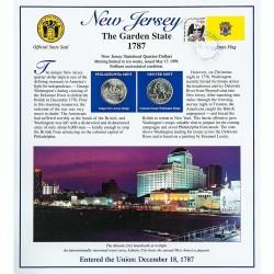 Постер штата Нью-Джерси