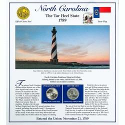 Постер штата Северная Каролина