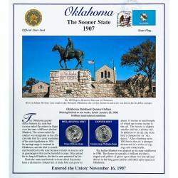 Постер штата Оклахома
