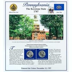 Постер штата Пенсильвания