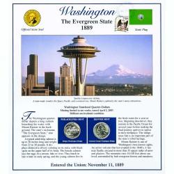 Постер штата Вашингтон