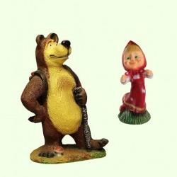 Фигуры Маша и Медведь