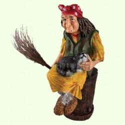 Садовая скульптура Баба Яга