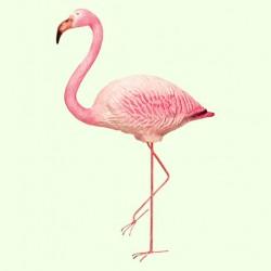 Садовая скульптура Фламинго на метал. лапах