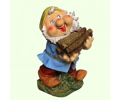 Садовая скульптура Гном дровосек (М)
