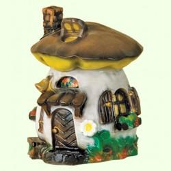 Садовая скульптура Гриб-домик (М)