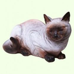 Садовая скульптура Кошка сиамская
