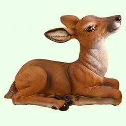 Садовая скульптура Косуля лежачая