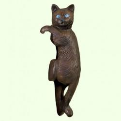 Садовая скульптура Кот висячий