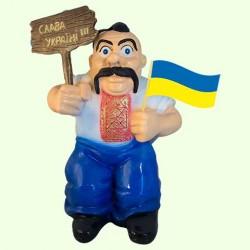 Садовая скульптура Козак патриот