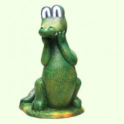 Садовая скульптура Крокодил Гена