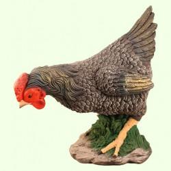 Садовая скульптура Курица чернушка
