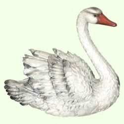 Садовая скульптура Лебедь (М)