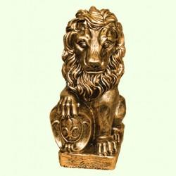 Садовая скульптура Лев левый
