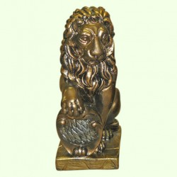 Садовая скульптура Лев левый (М)