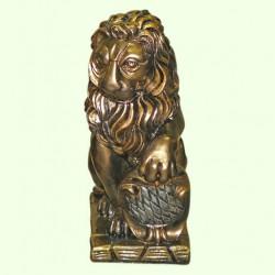 Садовая скульптура Лев правый (М)