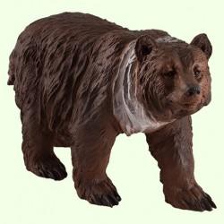 Садовая скульптура Медведь бурый