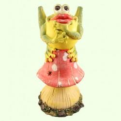 Садовая скульптура Ропуха на грибе (Б)