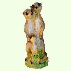 Садовая скульптура Семейка сусликов
