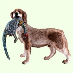 Садовая скульптура Собака с фазаном